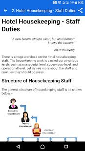 Learn Hotel Housekeeping - náhled