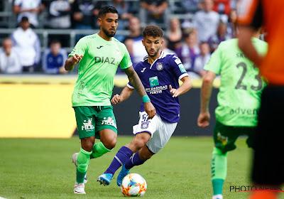 """Ronald Vargas n'a pas célébré : """"Anderlecht m'a apporté beaucoup"""""""