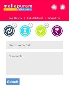 Mallapuram Referral App. - náhled
