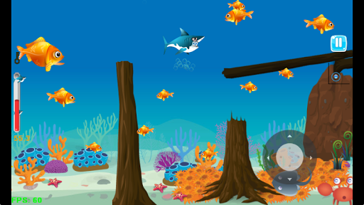 Shark Journey - Feed and Grow Fish Game filehippodl screenshot 2