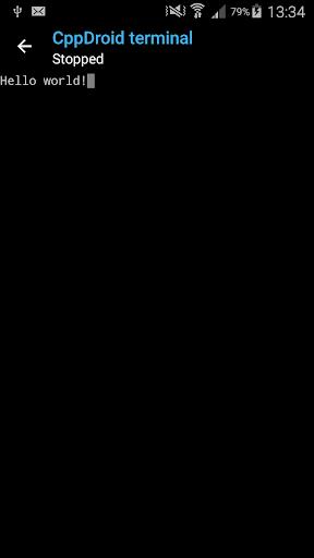 CppDroid - C/C++ IDE 3.3.3 screenshots 4