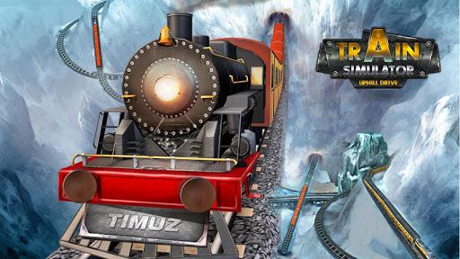 Train Simulator Uphill Drive apkpoly screenshots 1