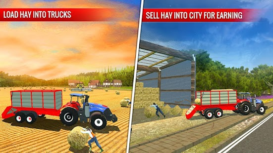 Grand Tractor Cargo Transport Farming Simulator 3D - náhled