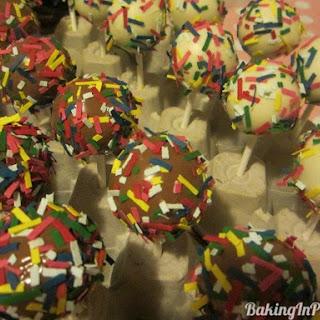 Confetti Cake Pops.