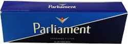 Parliament Full Flavor Kings Cigarette Box - Blue
