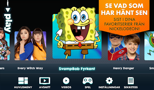 Nickelodeon Play– miniatyr av skärmdump
