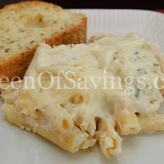 Four Cheese Baked Ziti.