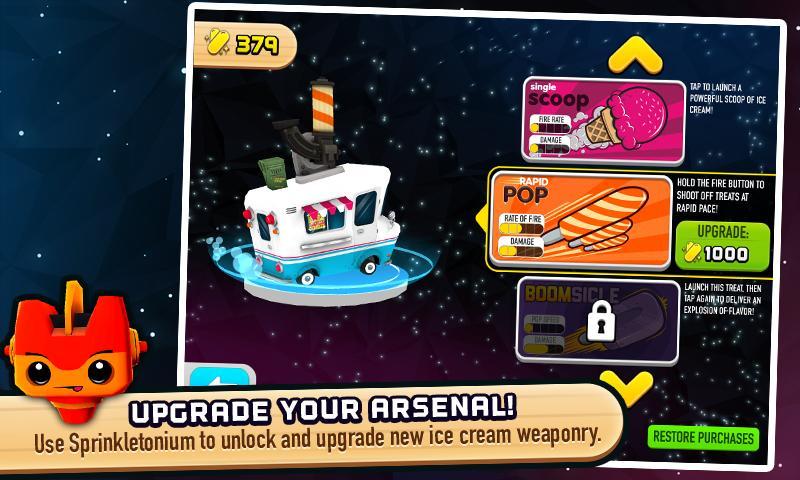 Скриншот Robots Love Ice Cream