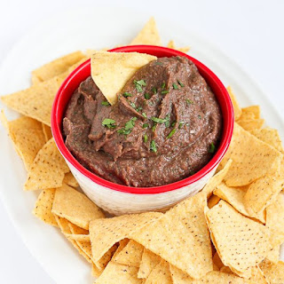 5-Minute Black Bean Dip Recipe