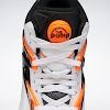 pump omni zone ii footwear white / wild orange / black
