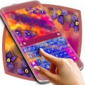 Colorful Flowers Keyboard Theme