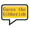 Guess the gibberish game - word games / challenge icon