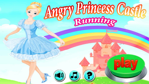 Angry Princess Castle Running