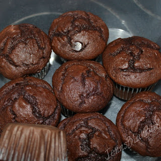 Awesome Super Chocolaty Chocolate Cupcakes.