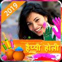 Happy Holi Photo Frame Editor icon