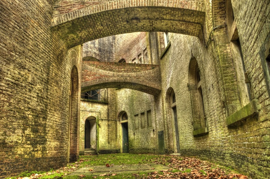 Fort Honswijk by Timo Gorissen - Buildings & Architecture Public & Historical ( building, waterlinie, hdr, fort honswijk )