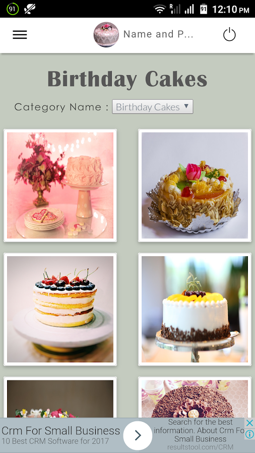 Name and Photo on Cake Android Apps on Google Play