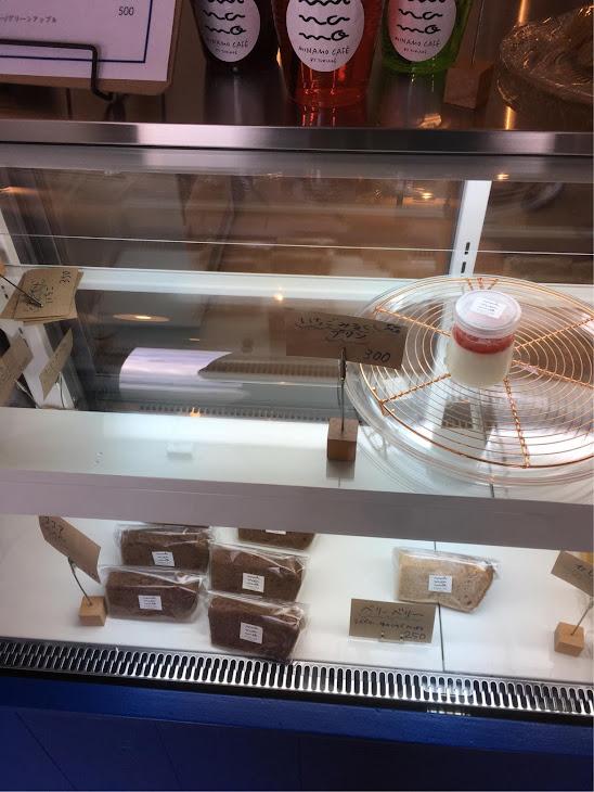 シフォンケーキ MINAMO CAFÉのショーケース
