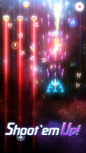 Cheat Space Wingmen : Stylish Arcade Shooting Mod Apk, Download Space Wingmen : Stylish Arcade Shooting Apk Mod 4