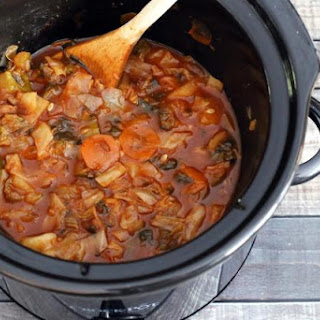 Crock Pot Garden Cabbage Soup