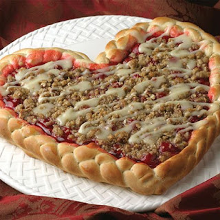 Cherry Heart Tart