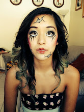Photo: Doll Face Paint by Tess Long Beach, Ca. Call to Book Tess at 888-750-7024