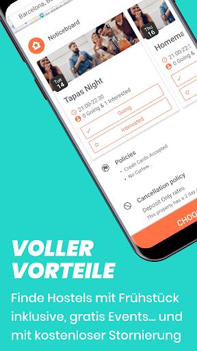 Hostelworld: Jugendherbergen und Reise-App screenshot 5