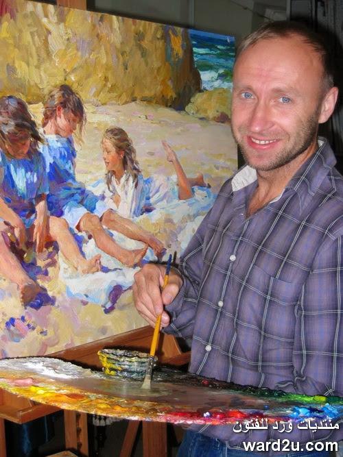روائع ابداعات الفنان الروسى Yuri Krotov