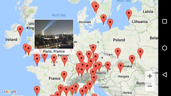 Earth Online Live World Webcams Cameras Pro Android Apps On - Live map online