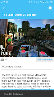 SideloadVR for GearVR- screenshot thumbnail