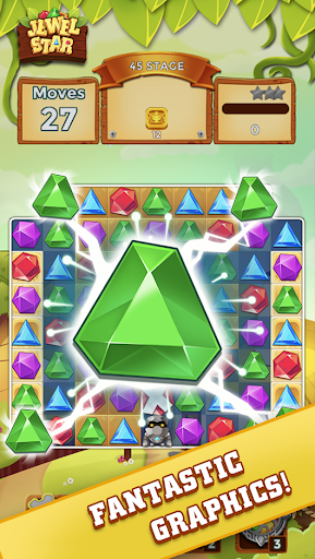 Jewel Star: Jewel & Gem Match 3 Kingdom android2mod screenshots 1