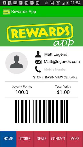 Member Rewards App