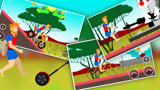 Scary Wheels: Don't Rush! android2mod screenshots 4