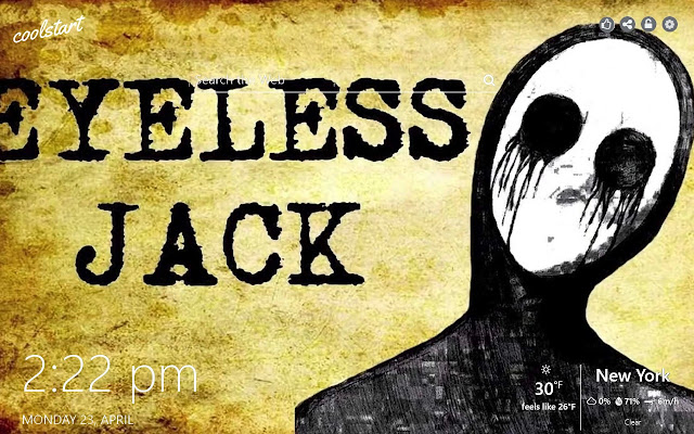 Eyeless Jack HD Wallpapers Creepypasta Theme