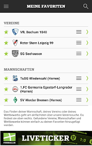 FUSSBALL.DE screenshot 5