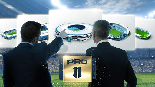 Pro 11 - Football Manager Game  captures d'écran 1