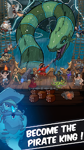 Clicker Pirates - Tap to fight Screenshot 1