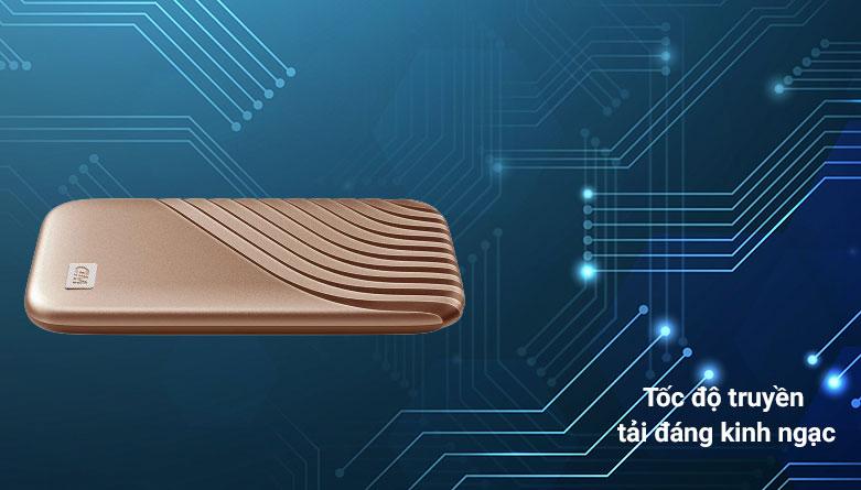 Ổ cứng HDD WD Blue 4TB SATA3 5400rpm (WD40EZAZ) | Tốc độ truyền tải đáng kinh ngạc
