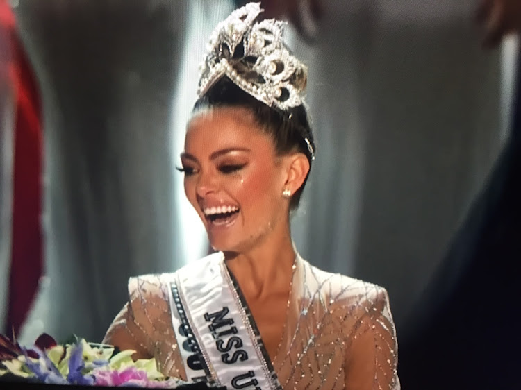 Demi-Leigh Nel-Peters has been crowned Miss Universe.