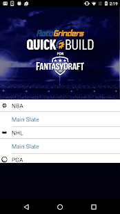 QuickBuild for FantasyDraft- screenshot thumbnail