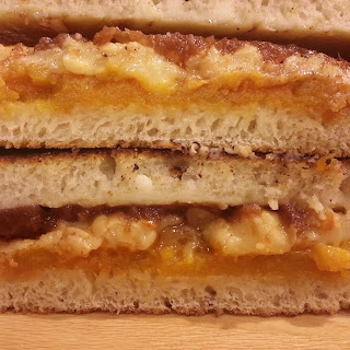 Tomato Noodle Soup and Adult Grilled Cheese Sandwiches Recipe
