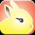 Happy Easter Bunny icon