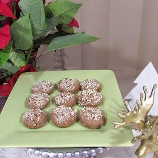 Gluten Free Chocolate Hazelnut Truffle Cookies.