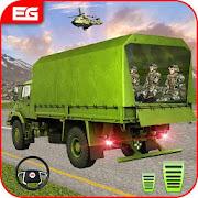 جيش شاحنة و الجيش جيب سائق