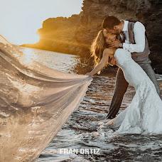 Wedding photographer Fran Ortiz (franortiz). Photo of 15.12.2016