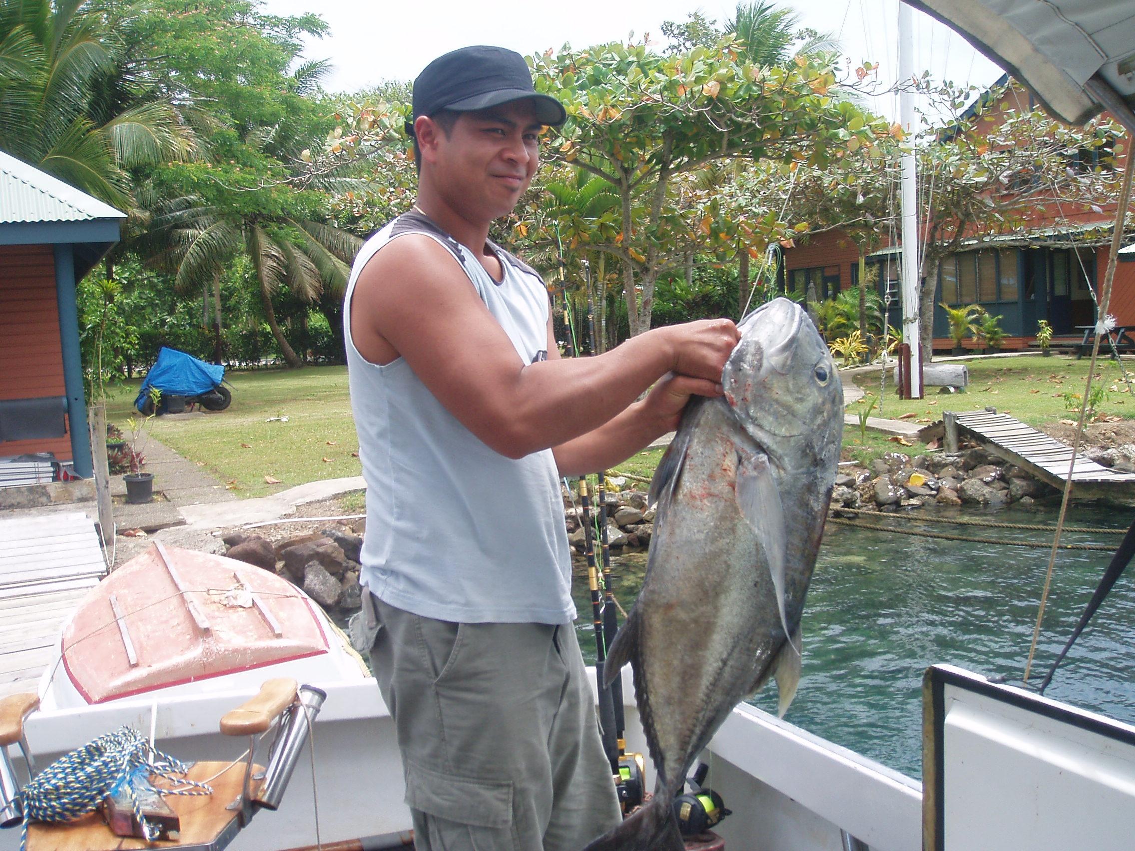 Photo: Geof & His 16.6kg Trevally