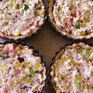 Sun-Dried Tomato and Leek Quiche