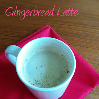 Quick Holiday Spice (aka Gingerbread) Latte