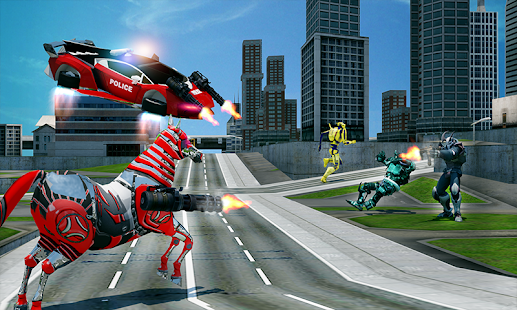 Download free US Police Multi Robot Transform: Wild Horse Games for PC on Windows and Mac apk screenshot 2