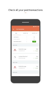 Recharges, Bill Payments, UPI, Mutual Funds Screenshot